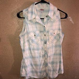 True Religion button shirt
